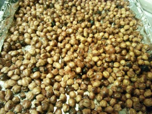 Alton Brown's Crunchy Chickpeas