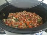 Mexican Bean and Vegetable Chili