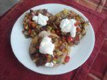 Pepper Steak Tortillas