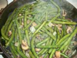 Fresh Green Beans, Onion & Mushrooms