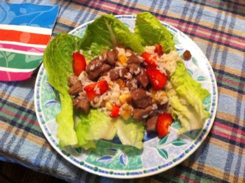 Fruited Lamb Salad