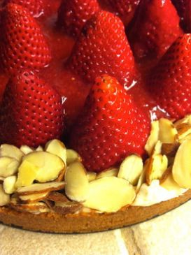 Strawberry Almond Tart