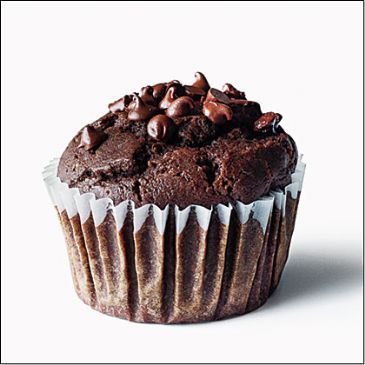 Chocolate-Chocolate Chip Muffins