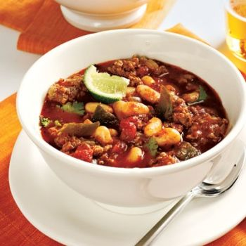 Crock Pot 3 Bean Turkey Chili