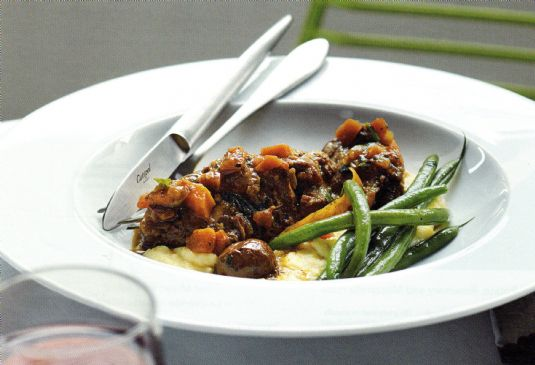 Braised Lamb with Olives - Agnello alle Olive