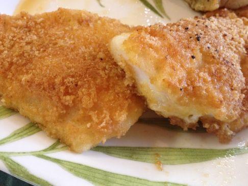 Crispy Fried, Low Carb Fish
