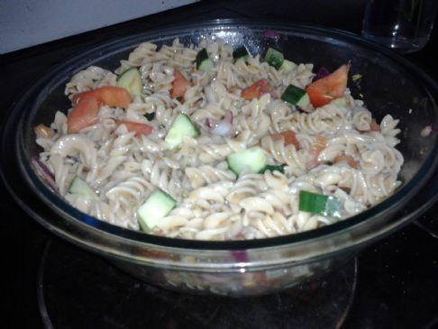 Garden Pasta Salad Gluten Free