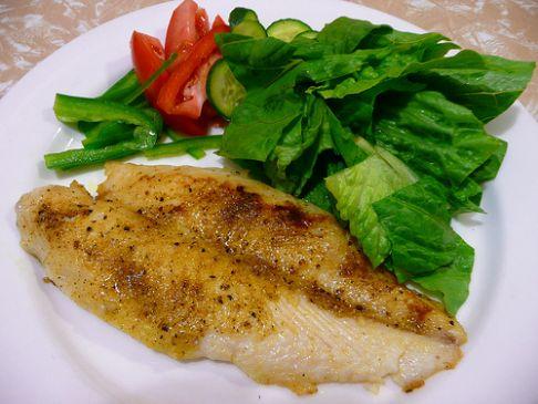 Almond fish salad recipe sparkrecipes for Fish salad recipes