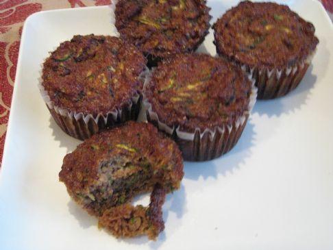 Paleo Zucchini Muffins