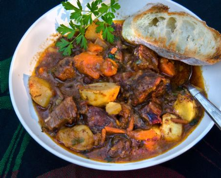 Savory Fall Beef Stew Recipe Sparkrecipes