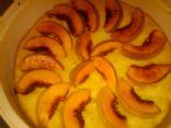 Fresh Peach Genoise