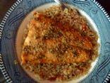 Citrus Salmon atop Quinoa