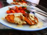 Chicken Schnitzel with Mustard Sauce