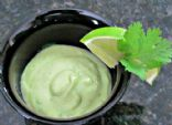 Creamy Vegan Avocado Salad Dressing