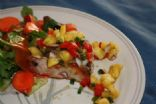 Pineapple Salsa with Pork Chops