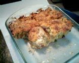 Tuna Melt Bread Pudding