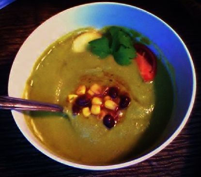Creamy Thai pea Curry Soup