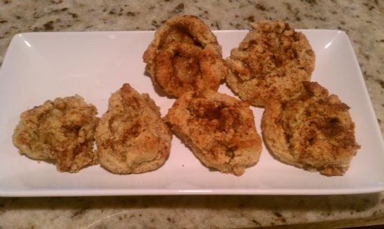 Gluten Free cinnamon rolls with almond flour
