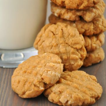 Chris' Award Winning Peanut Butter Cookies