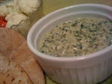Spinach Dip (with silken tofu!)