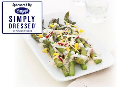 Simply Dressed� Asparagus Salad