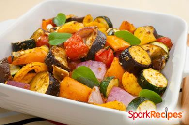 End-of-Summer Roasted Veggies
