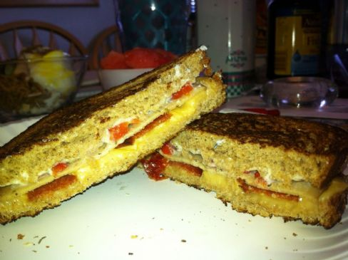 Ultimate Vegetarian Grilled Cheese