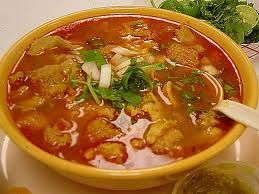 Menudo Rojo (Tripe Soup)