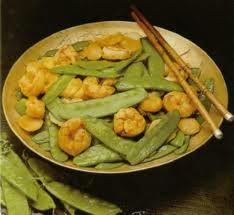 Stir Fried Shrimp & Pea Pods