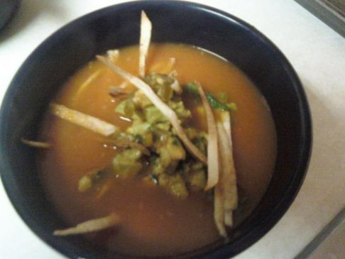 On the Border Chicken Tortilla Soup