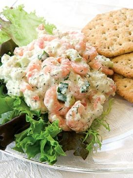 Shrimp  and Crab Salad with Dill