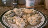 Mini kale artichoke frittatas