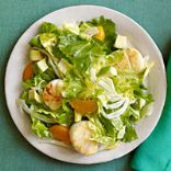 Escarole, Orange & Avocado Salad with Scallops