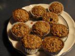 Whole Wheat Flax'N Apple Muffins