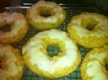 Baked Lemon Donuts with Quick Lemon Glaze