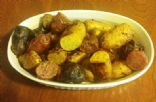 Roasted Finglerling Potatoes