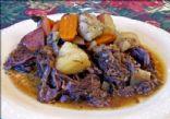 Pot Roast with Potatoes, Carrots & Onion