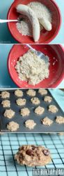 Banana Oat Cookies