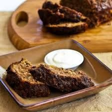 Mexican Turkey Meatloaf with Spicy Yogurt Dip