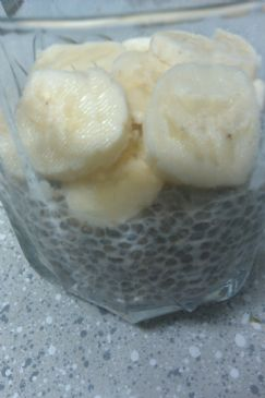 Chia Seed Almond Pudding