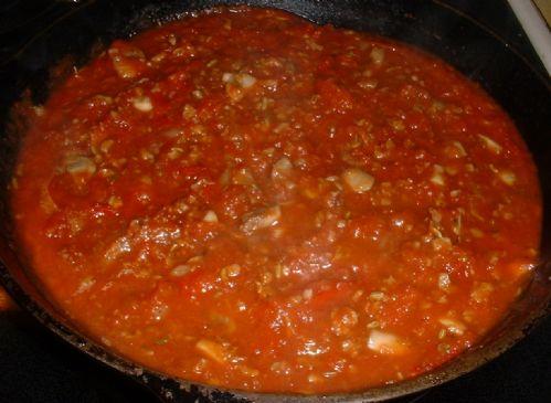 SPICY TOMATO PASTA SAUCE