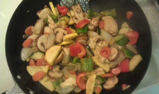 Chicken & Veggie Stir Fry