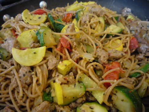 Pasta With Italian Turkey Sausage Amp Summer Squash Recipe