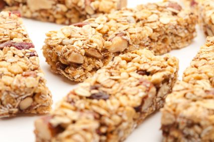 Homemade Fruit & Nut Granola Bars