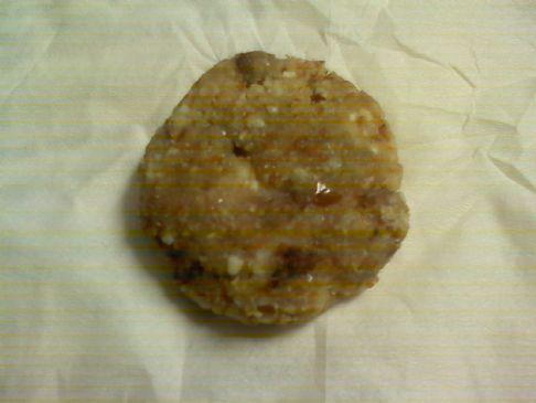 Raw Lemon Cashew Cookies