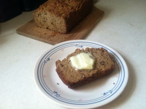 Banana Quick Bread, Low Carb