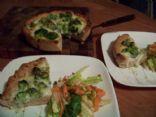 Deep Dish Broccoli Pizza