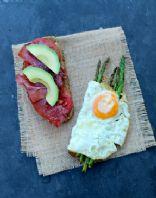 egg ham vegi sandwich