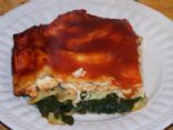 Chicken Spinach Lasagne