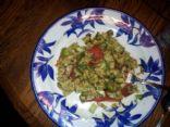Nonna's homemade barley salad
